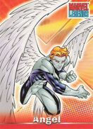 Warren Worthington III (Earth-616) from Marvel Legends (Trading Cards) 0001