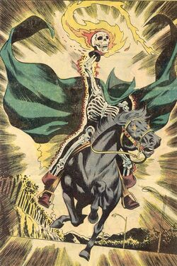 Headless Horseman (Earth-616) from Supernatural Thrillers Vol 1 6 001