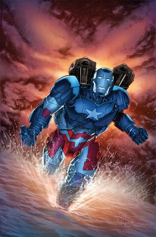 File:Iron Patriot Vol 1 1 Perkins Variant Textless.jpg