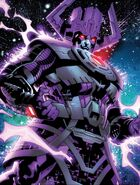 Galactus (Earth-616) merged with Gah Lak Tus (Earth-1610) from Hunger Vol 1 1 002
