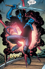 Kurt Wagner (Earth-616) and Soulsword from Nightcrawler Vol 3 11 0001