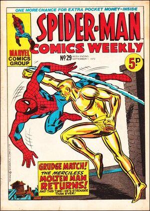 Spider-Man Comics Weekly Vol 1 29