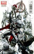 Avengers Vol 5 24.NOW Bianchi Sketch Variant