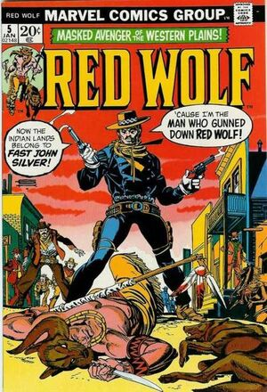 Red Wolf Vol 1 5