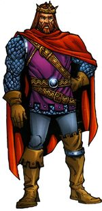 Arthur Pendragon (Earth-616) from Official Handbook of the Marvel Universe A-Z Update Vol 1 3 001