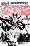 Avengers Vol 5 29 Sketch Variant