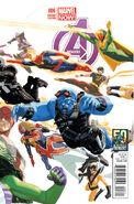 Avengers Vol 5 6 50 Years of Avengers Variant