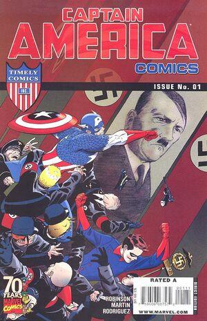 Captain America Comics 70th Anniversary Special Vol 1 1