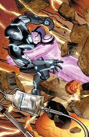 Anthony Stark (Earth-616) vs. Arthur Parks (Earth-616) from Iron Man Vol 5 3 001
