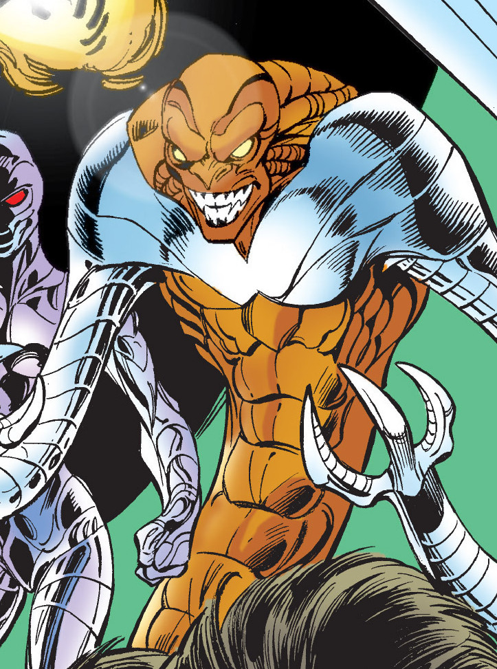 Hoopsnake (Brute Force) (Earth-616) from Thunderbolts Vol 1 31 001