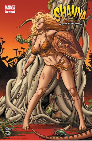 Shanna the She-Devil Survival of the Fittest Vol 1 2
