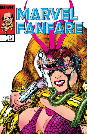 Marvel Fanfare Vol 1 13