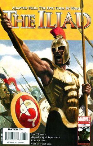 Marvel Illustrated The Iliad Vol 1 6