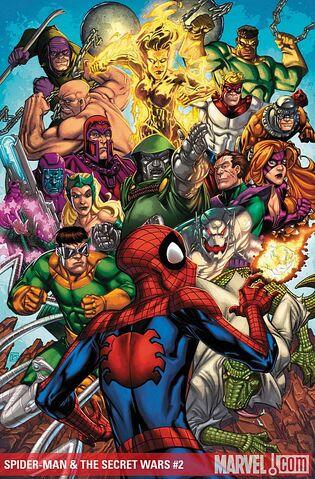 File:Spider-Man & the Secret Wars Vol 1 2 Textless.jpg