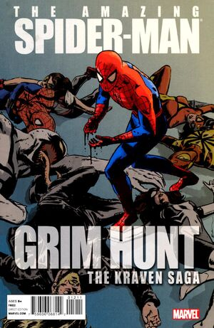 Spider-Man Grim Hunt - The Kraven Saga Vol 1 1