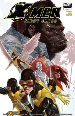 X-Men First Class Vol 1 8