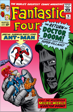 Fantastic Four Vol 1 16