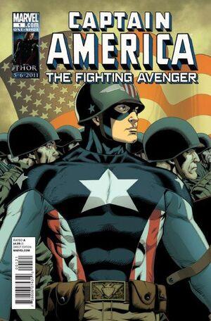 Captain America The Fighting Avenger Vol 1 1
