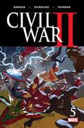 Civil War II Vol 1 5
