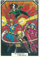X-Men (Earth-616) from Arthur Adams Trading Card Set 0004