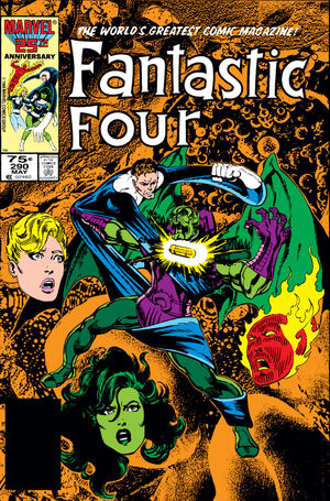 Fantastic Four Vol 1 290