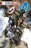 Avengers Vol 5 3 Granov Variant