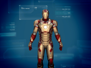 Iron Man Armor MK XLII (Earth-199999) from Iron Man 3 (video game) 001
