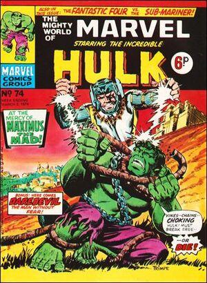 Mighty World of Marvel Vol 1 74