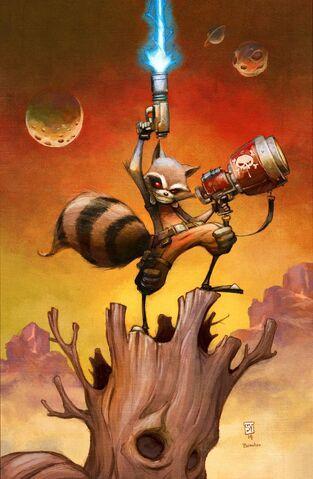 File:Rocket Raccoon Vol 2 1 Textless.jpg