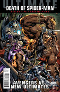 Ultimate Avengers vs. New Ultimates Vol 1 2 Variant Bryan Hitch