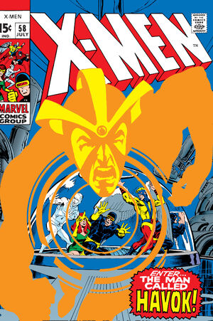 X-Men Vol 1 58
