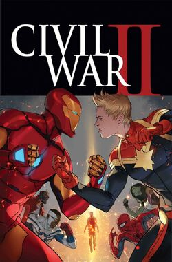 Civil War II Vol 1 1 Textless