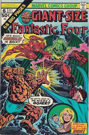 Giant-Size Fantastic Four Vol 1 6