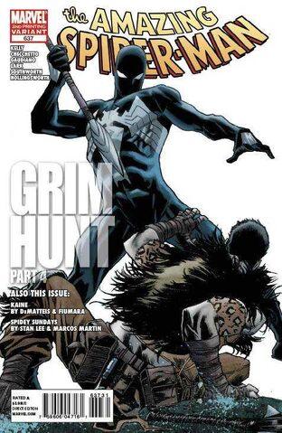File:Amazing Spider-Man Vol 1 637 Second Printing Variant.jpg