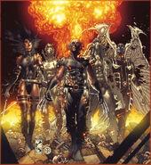 Fear Itself Uncanny X-Force Vol 1 1 Textless