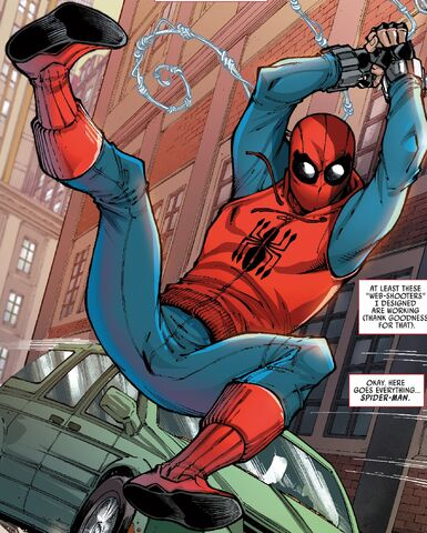 File:Peter Parker (Earth-199999) from Marvel's Spider-Man Homecoming Prelude Vol 1 1 001.jpg