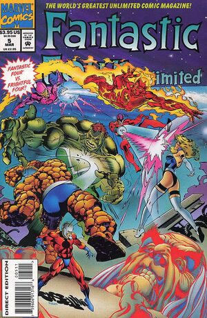 Fantastic Four Unlimited Vol 1 5
