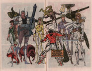 New Mutants Annual Vol 1 6 Pinup 1