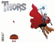 Thors Vol 1 1 Ant-Sized Variant (Wraparound)