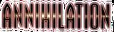 Annihilation (2006) Logo