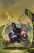 Captain America Vol 7 4 Simone Bianchi Variant Textless