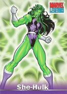 Jennifer Walters (Earth-616) from Marvel Legends (Trading Cards) 0001