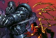 Boris Bullski (Earth-616) vs. Peter Parker (Earth-616) from Amazing Spider-Man Vol 1 531 001