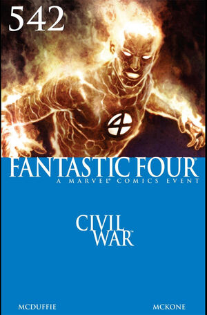Fantastic Four Vol 1 542