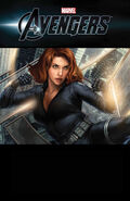 Marvel The Avengers Black Widow Strikes Vol 1 1 Textless