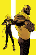 Power Man and Iron Fist Vol 3 6 Mighty Men of Marvel Cancelled Variant Textless