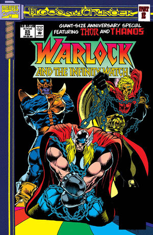 Warlock and the Infinity Watch Vol 1 25
