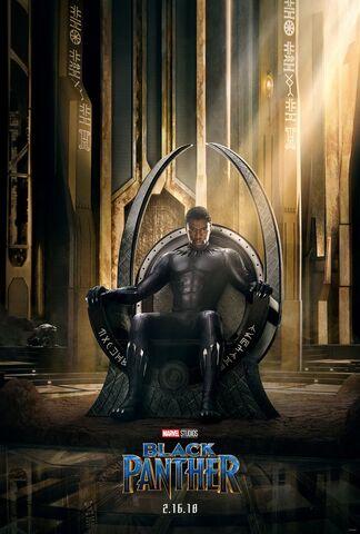 File:Black Panther (film) poster 001.jpg