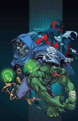 Spider-Man 2099 Vol 3 4 Marvel '92 Variant Textless