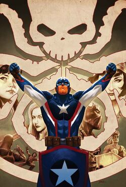 Captain America Steve Rogers Vol 1 7 Story Thus Far Variant Textless